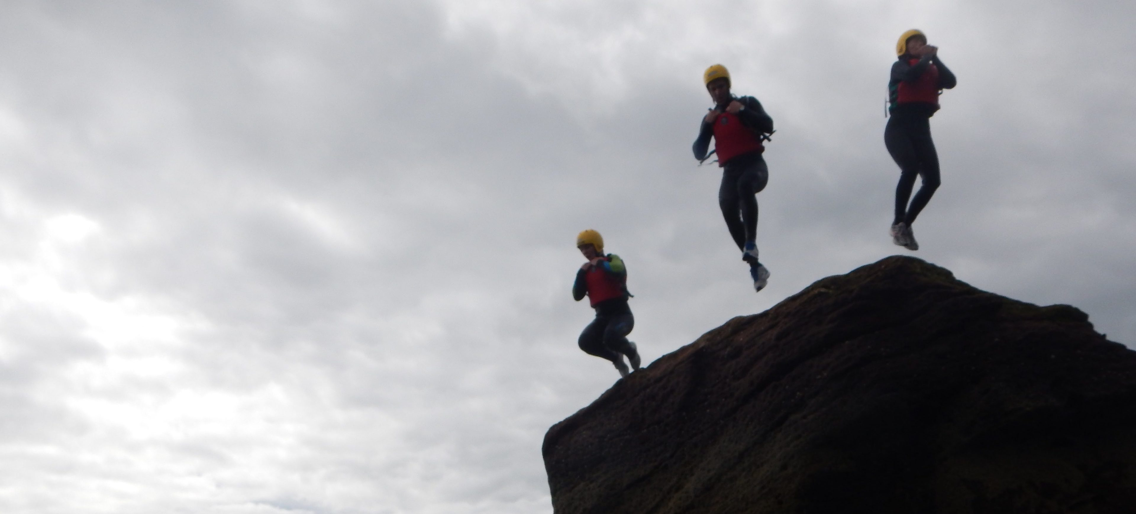 Coasteering with Vertical Descents is a huge buzz.