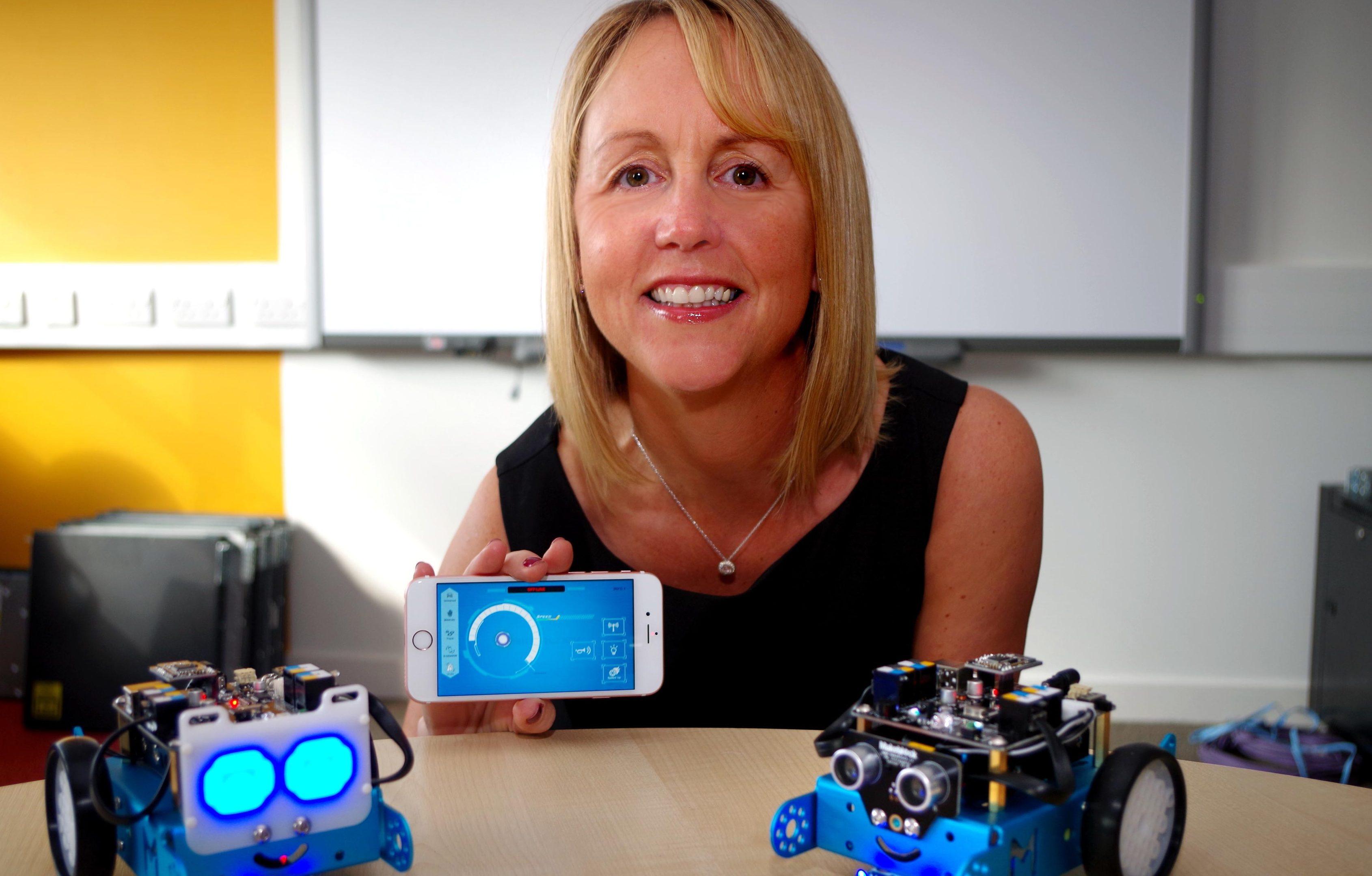 Head of computing and creative industries Gillian Mcgovern.