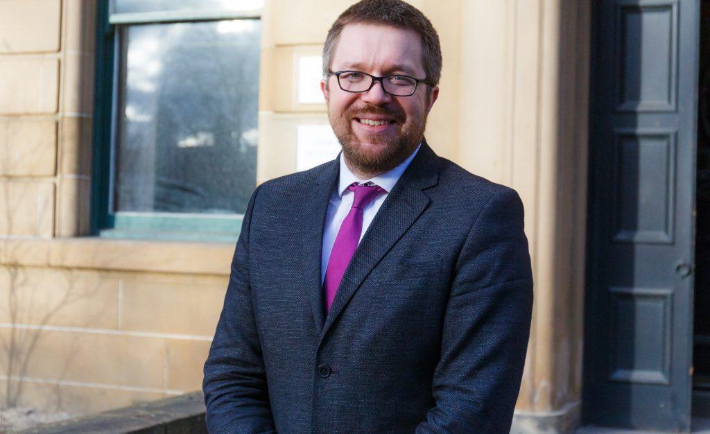 Gordon MacRae, chief executive of the Humanist Society Scotland