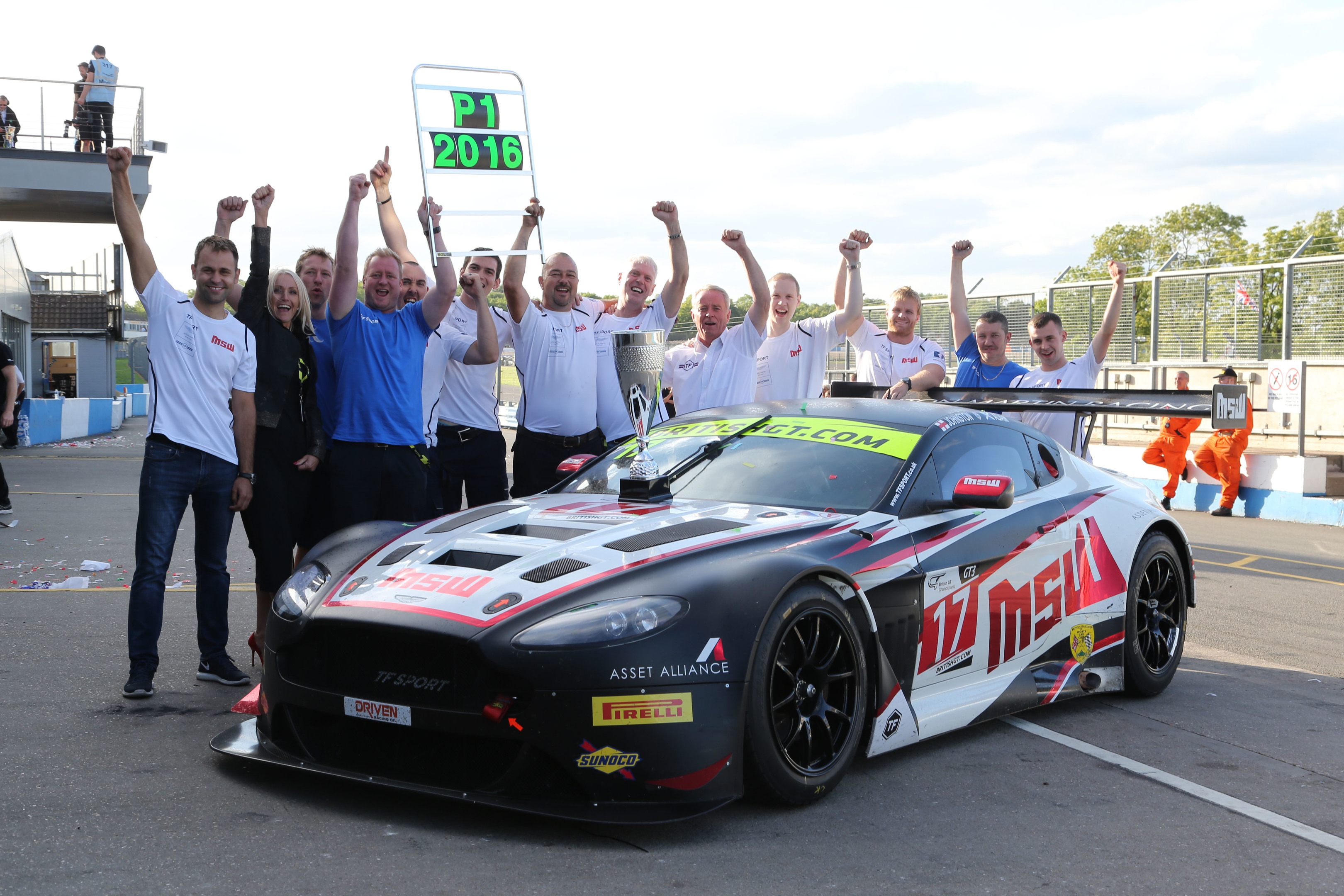 British GT celebrations in 2016