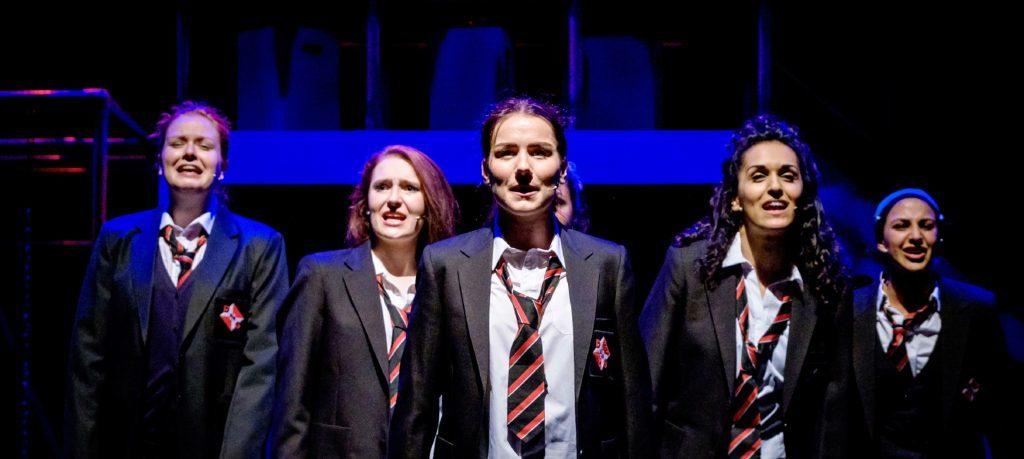 An inspiring show - the Glasgow Girls.