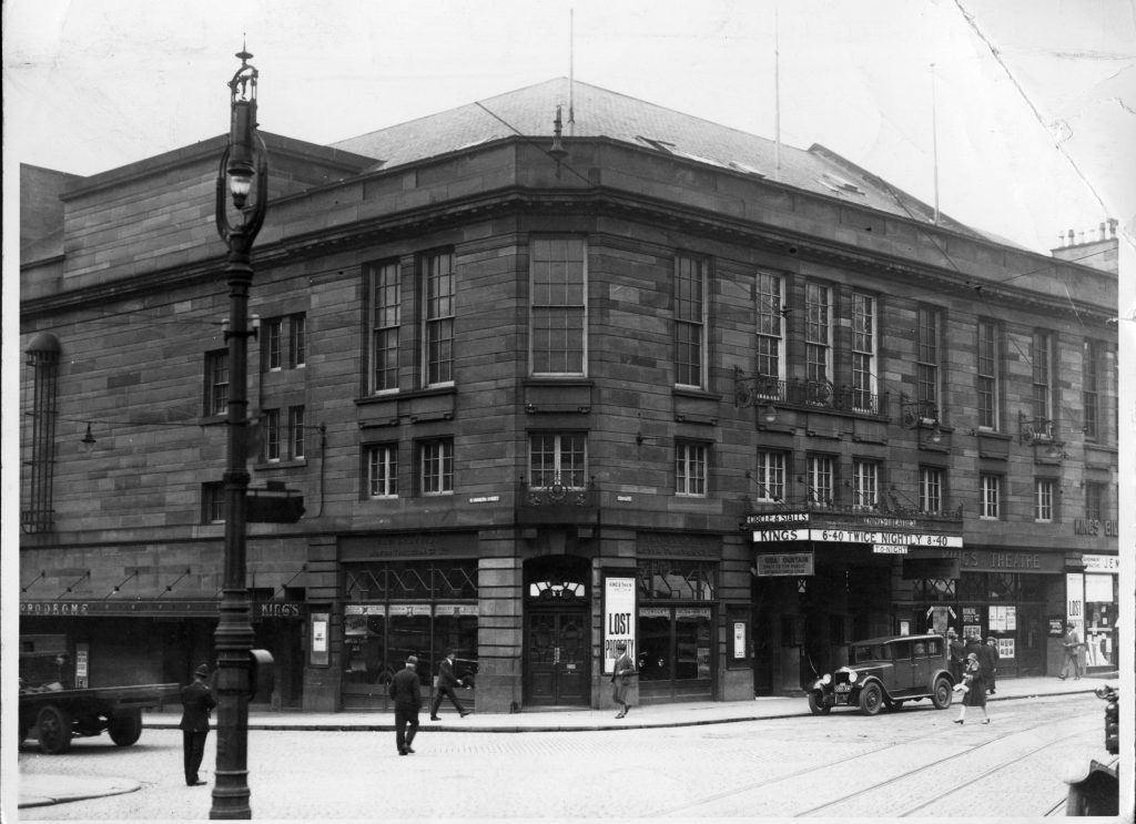The King's Theatre in Dundee back in its heyday.