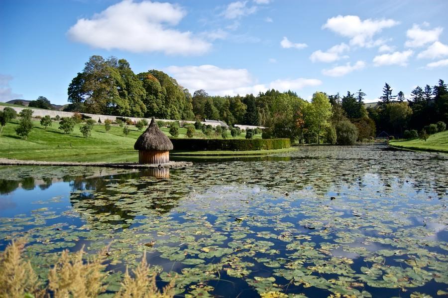 The Hercules Garden at Blair Castle.