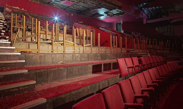 The inside of the former ABC cinema in Kirkcaldy High Street, which could be given a new lease of life.