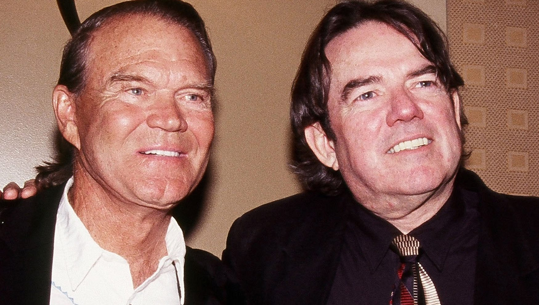 Glen Campbell and Jimmy Webb, pictured in New York in 2005