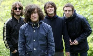 The View members Peter Reilly, Kyle Falconer, Kieren Webster and Steven Morrison in 2011.