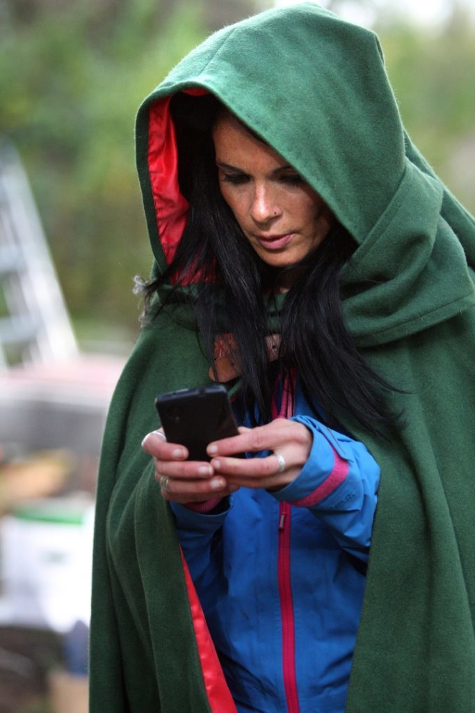 Gayle gets to grips with the Dragon Matrix app.