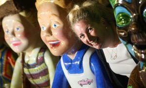 Euromillions winner Gillian Bayford bought Oor Golfer, Oor Wheelie, Oor Bowie, Minecraft and Woodlands.