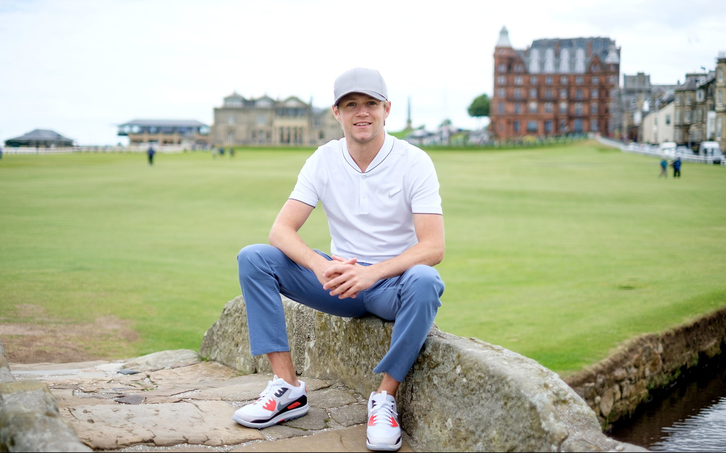 Niall Horan pictured at St Andrews.