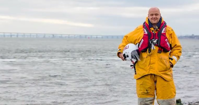 Arbroath jet skier Ben Thomson has since gone on to join the RNLI