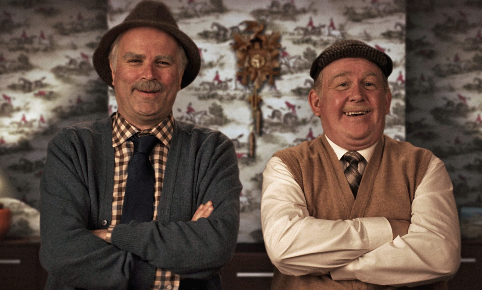 Victor McDade, played by Greg Hemphill, and Jack Jarvis, played by Ford Kiernan.