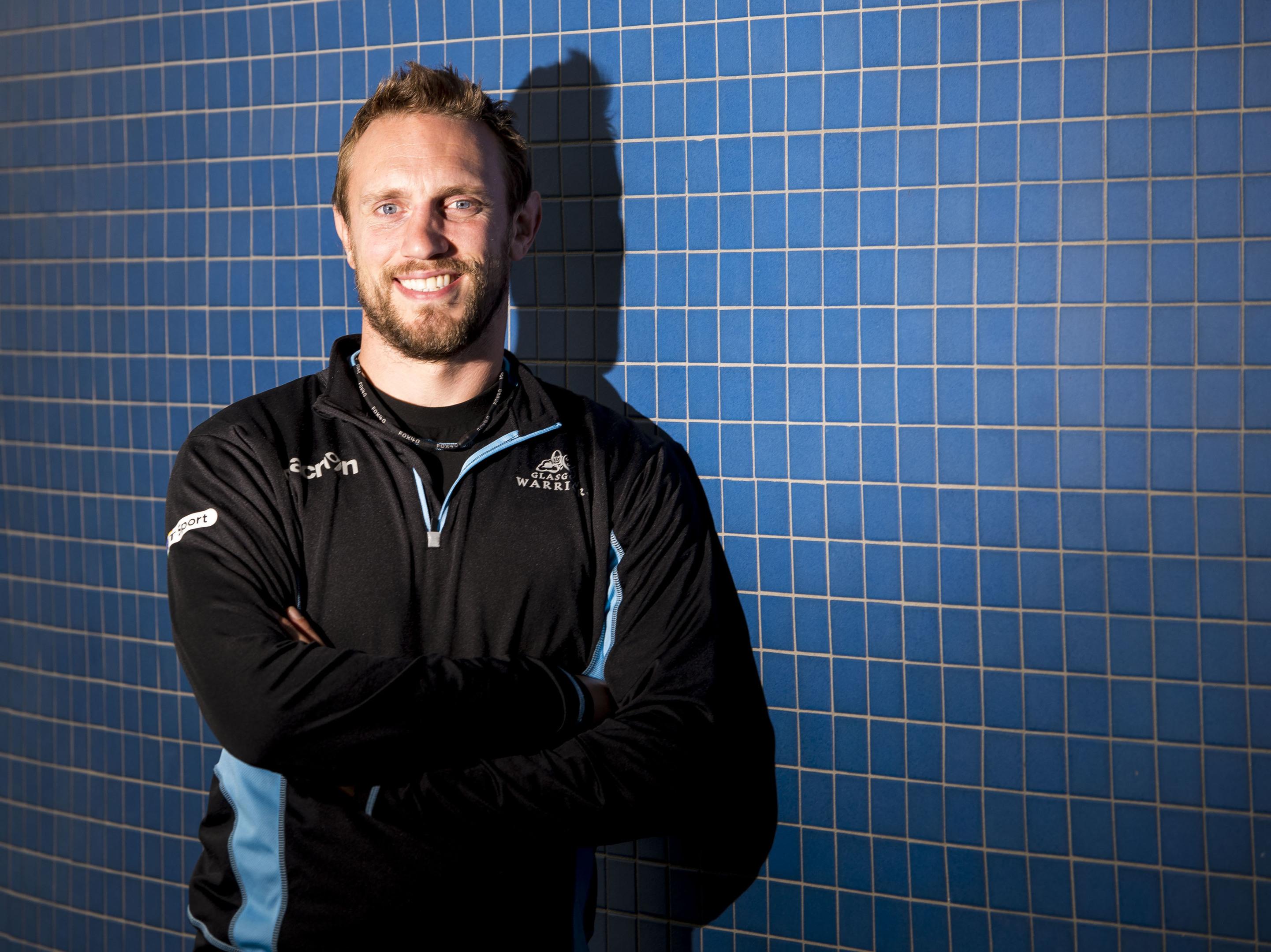 Mike Blair believes Magnus Bradbury can captain Scotland one day.