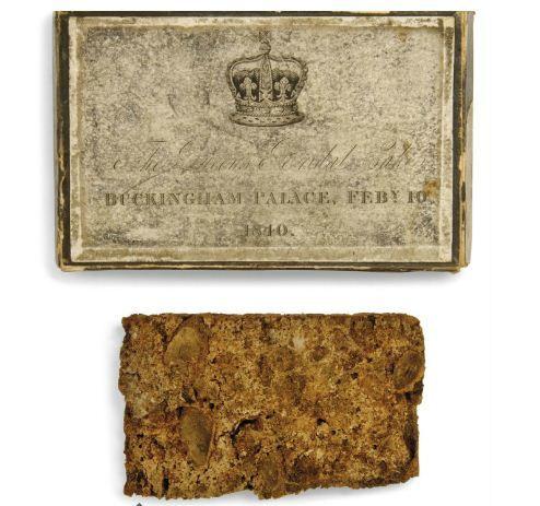 Queen Victoria's wedding cake, £800-£1200