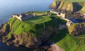 "Dunnottar Castle ban for ""noisy"" drones"