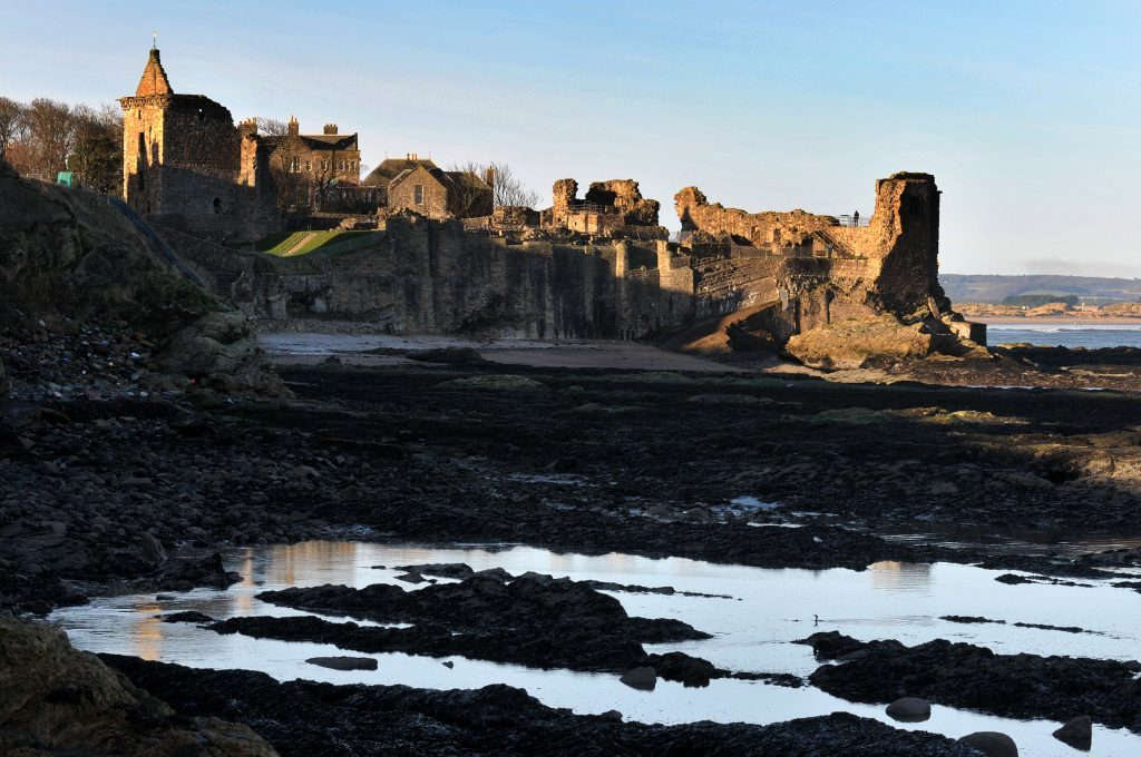 St Andrews Castle and similar tourist attractions benefit from more stay at home tourists