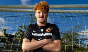 Dundee United striker Simon Murray believes medal would be perfect Mother's Day present