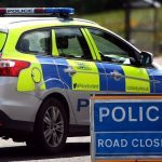 Road closed following one-vehicle accident