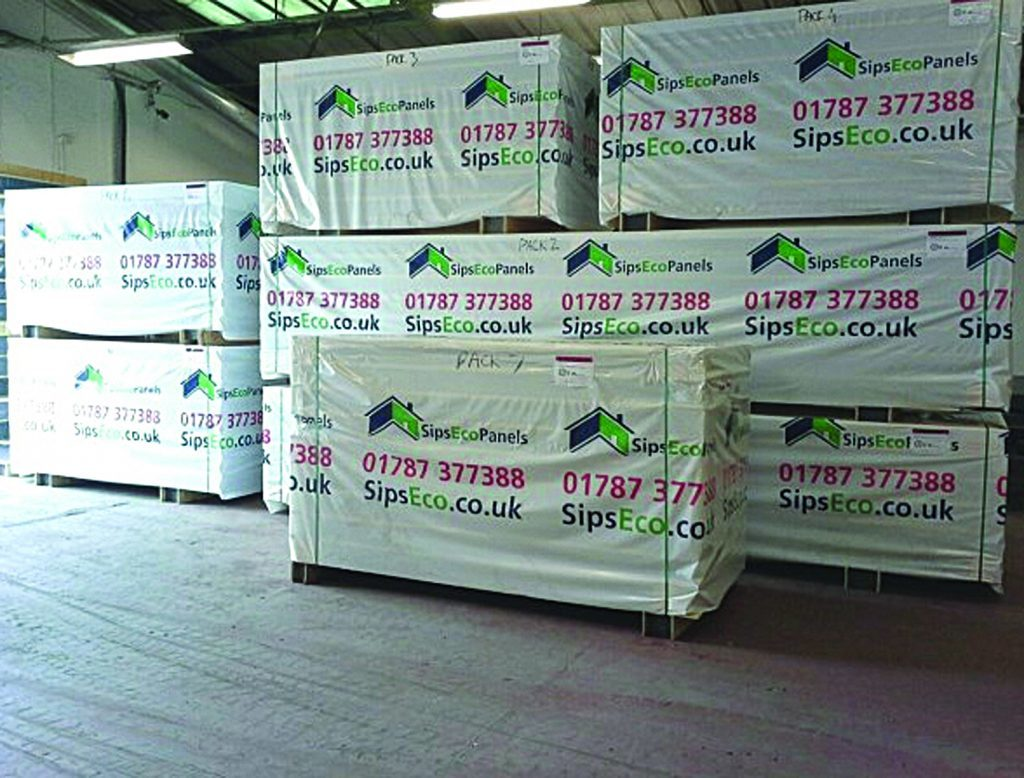 SIPpanels ready to leave SIP Eco Panels factory in Glenrothes