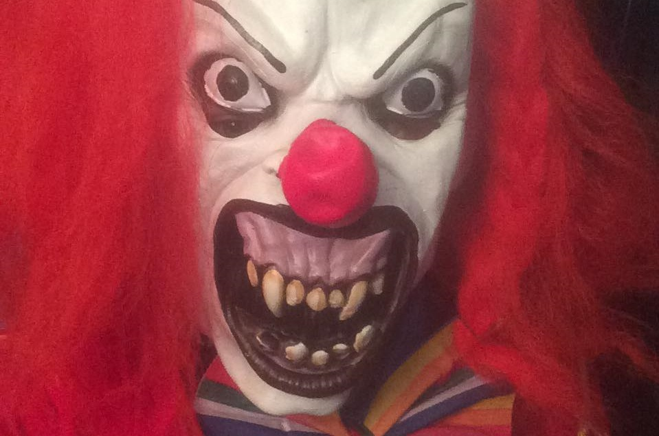 The killer clown plague has come to Tayside, with a woman in Perth the latest to be targeted by a masked individual, such as this clown spotted in Dundee.
