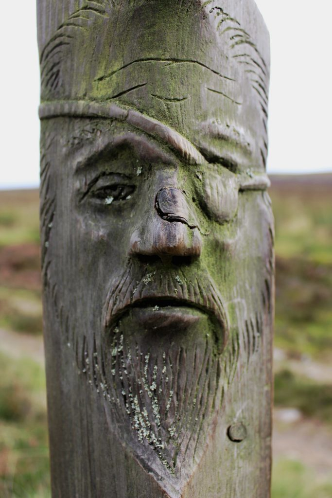 2-cateran-carving-on-cateran-trail-marker-post-james-carron-take-a-hike