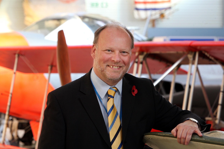 Mr Stiff will leave in May 2017.