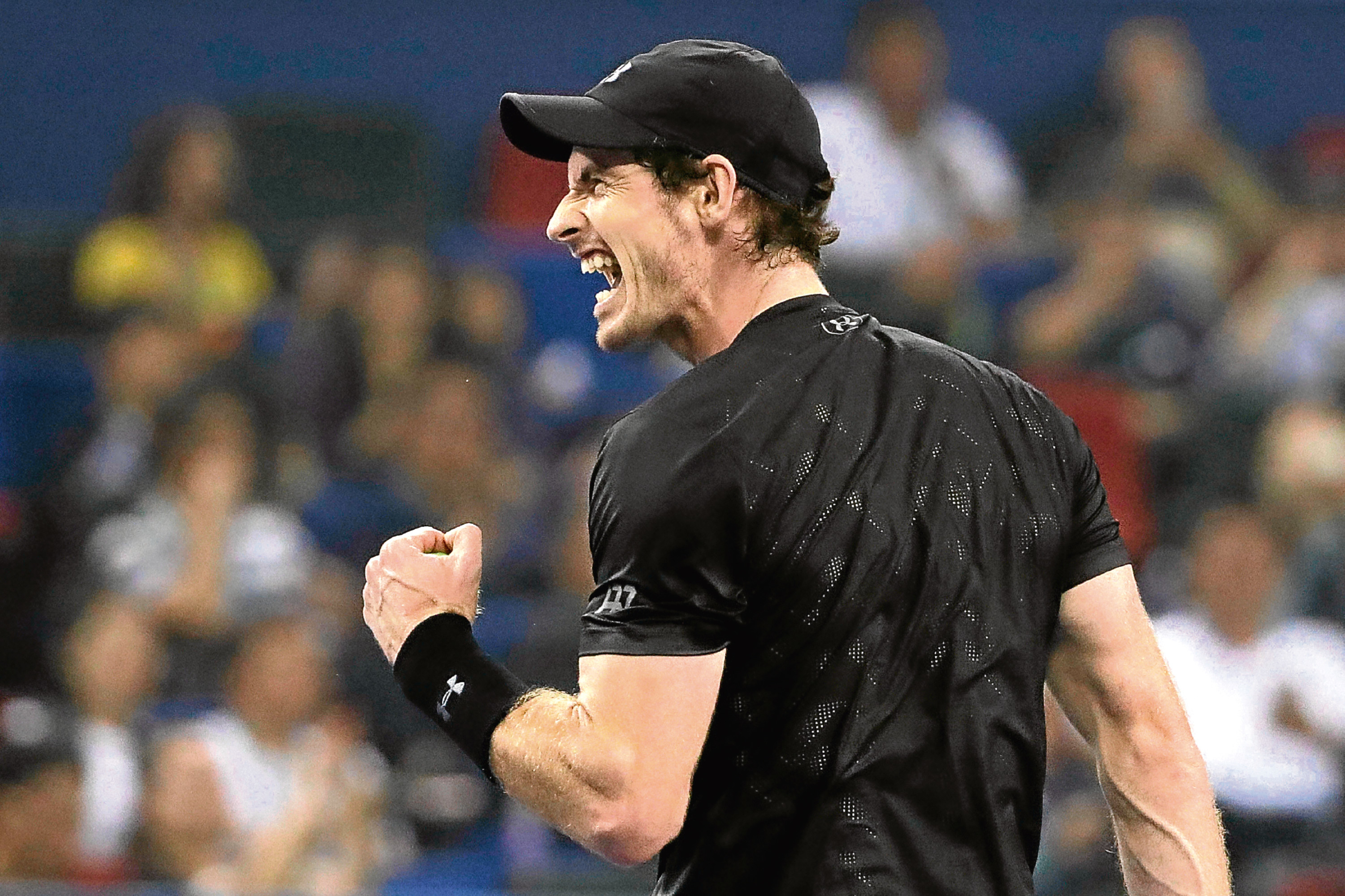 Andy Murray , the world's top ranked tennis player.