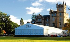 A previous Arc Marquees build for fashion giant Dior.