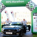 Mustang muscle car triumphs in fuel economy marathon