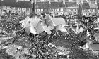 The terrible aftermath of the Aberfan disaster.