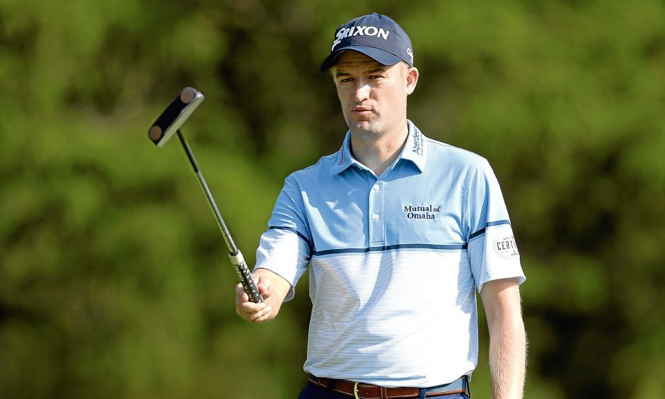 Despite playing in just 11 events, Russell Knox was the leading Scot on the European Tour in 2016.