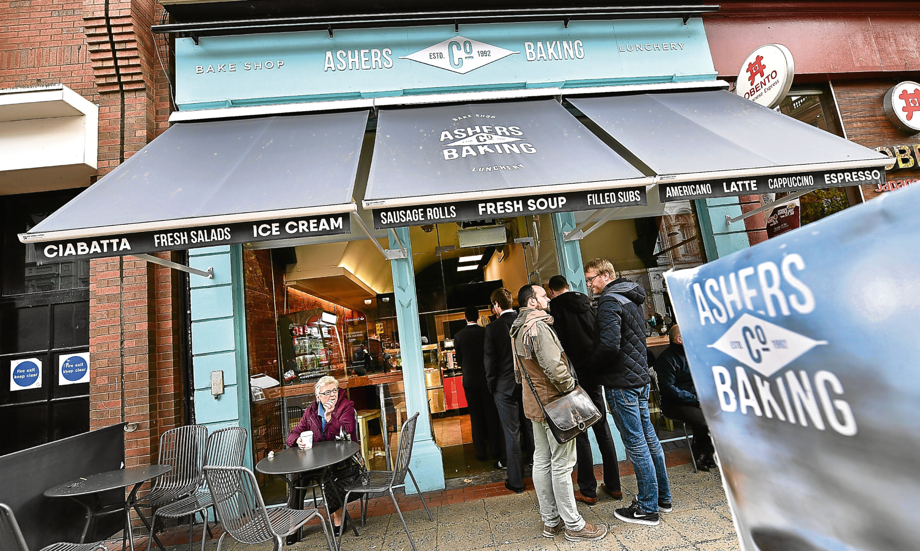 Ashers, the Belfast bakery at the centre of the gay cake row.