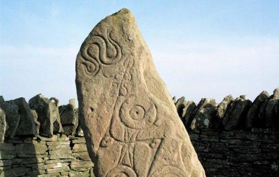 Aberlemno standing stone near Brechin
