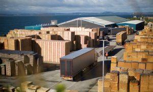 Scott Group's pallet manufacturing site in Burntisland.