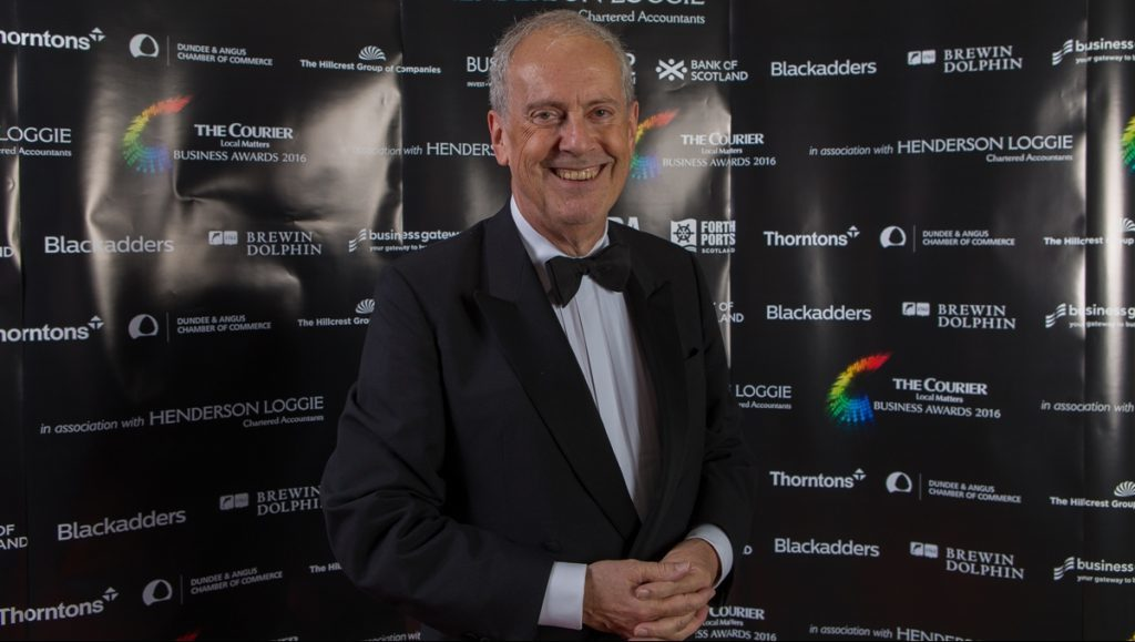 2016 host Gyles Brandreth is returning by popular demand to take the helm of the 2017 Courier Business Awards