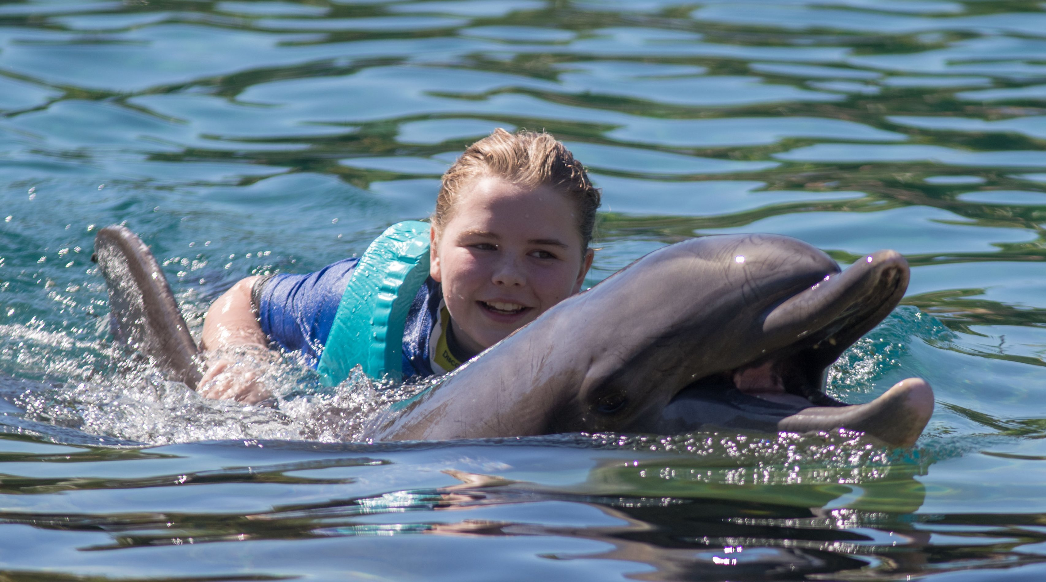 Morgan Maxwell, from Bridge of Earn, on her Dreamflight trip of a lifetime