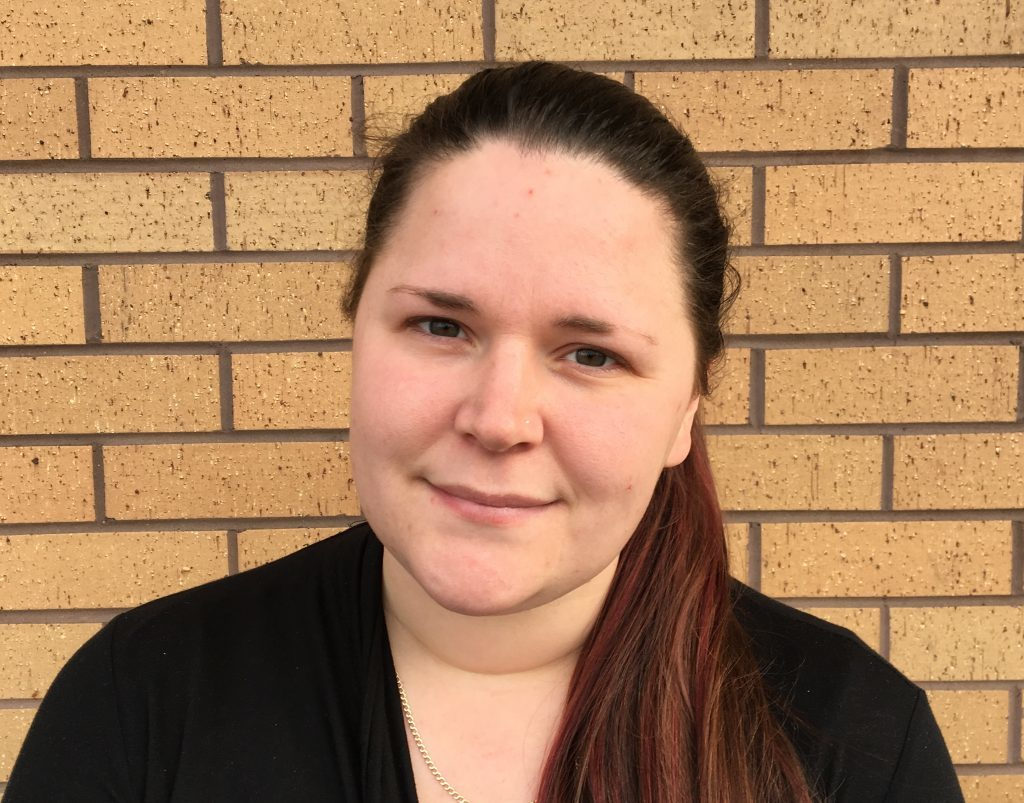 Caroline Houston, a support worker of Maryfield, is a Yes voter