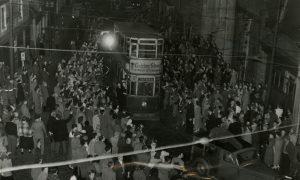 E96 1956-10-21 Dundees last tram  (c)DCT