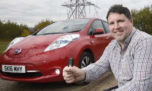 Scottish motorists switching on to electric cars