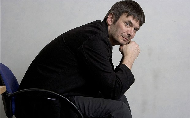 Fife-raised author Ian Rankin