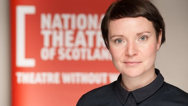 Jackie Wylie has been appointed new artistic director of the National Theatre of Scorland