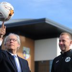 Former First Minister Henry McLeish hails sports development in Fife