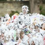 VIDEO: Fun in the foam at St Andrews University's Raisin Weekend finale