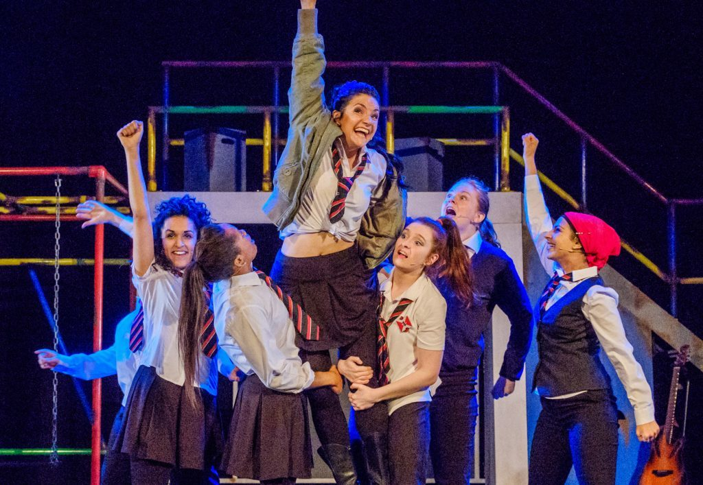 The National Theatre of Scotland's Glasgow Girls arrives at Dundee Rep next week.