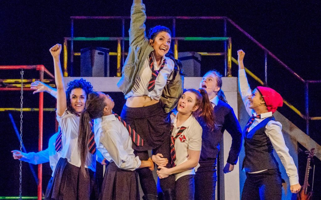 The National Theatre of Scotland's Glasgow Girls drew the crowds to Dundee Rep last autumn.