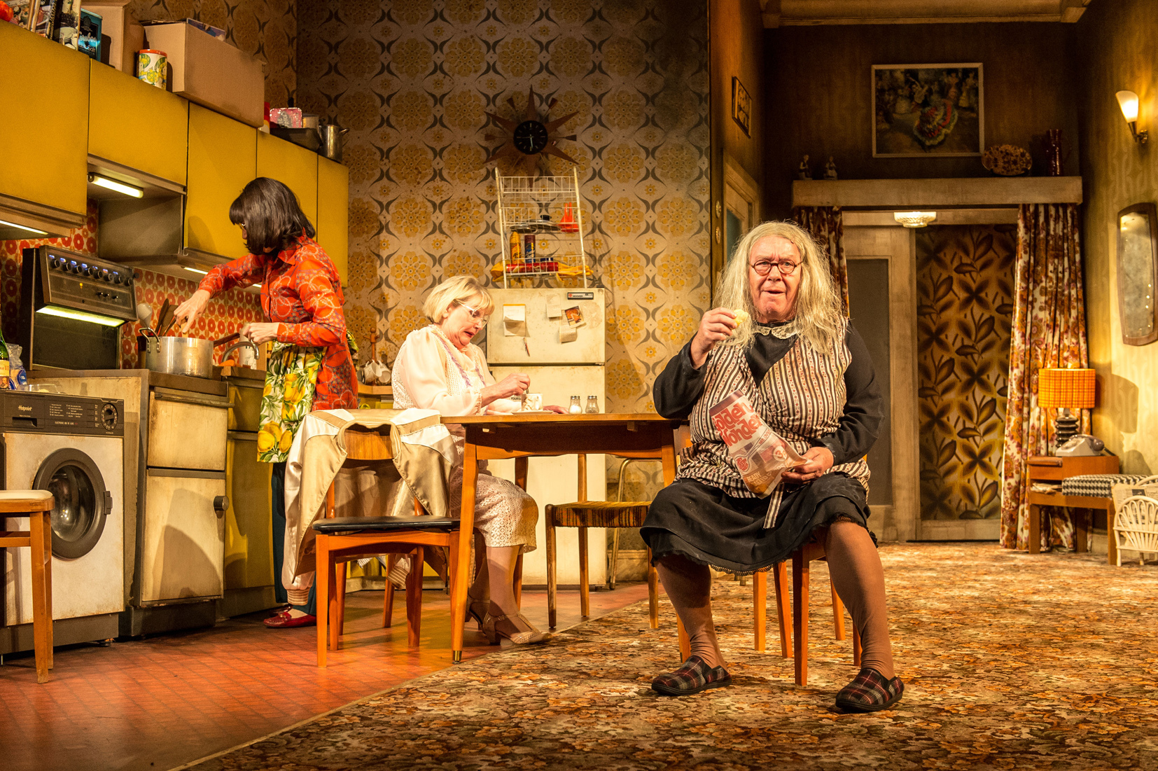 Gregor Fisher in the National Theatre of Scotland's production of Yer Granny.