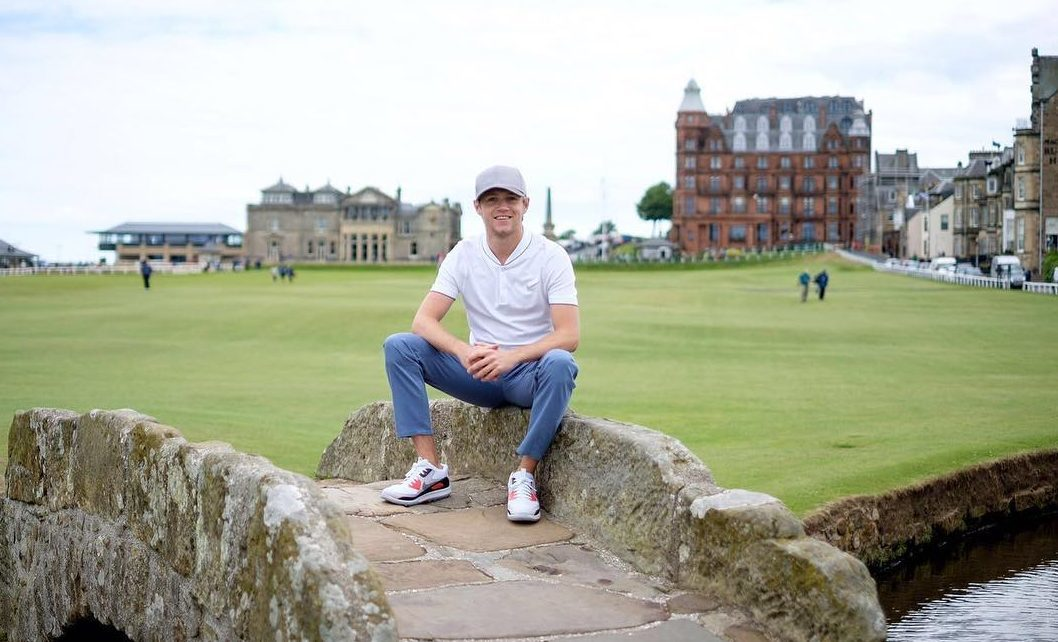 Niall Horan has withdrawn from the event in St Andrews this week.