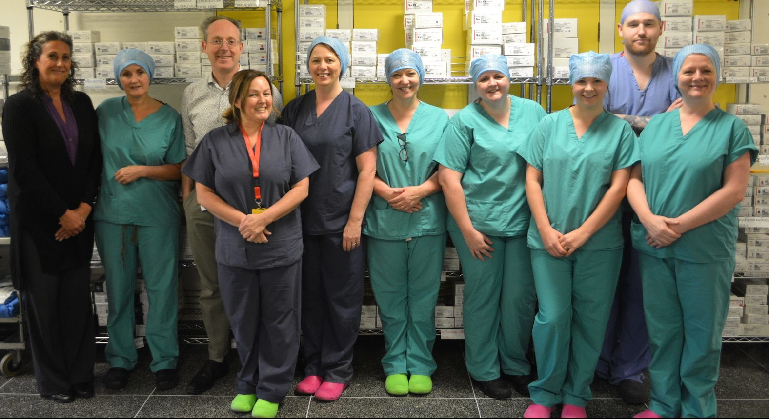 The orthopaedic surgery team