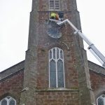 Clock winder Bob calls time after 30 years of keeping church timepiece running