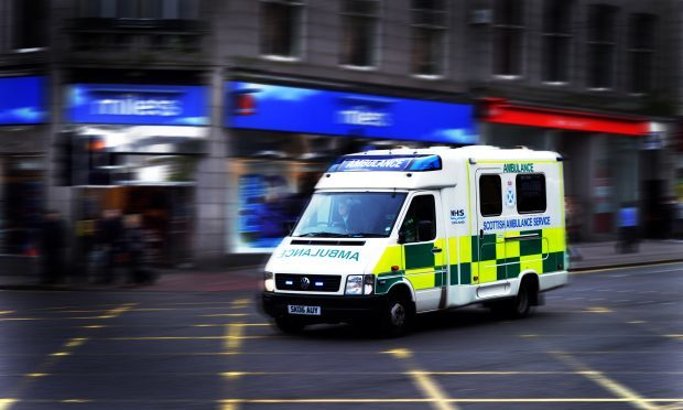 More than 200 postcode areas were listed by the Scottish Ambulance Service in Courier Country.