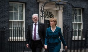 "Nicola Sturgeon calling for Scottish alliance to fight ""hard Brexit"""